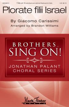 Plorate Filii Israel: Jonathan Palant Choral Series (HL-00248913)
