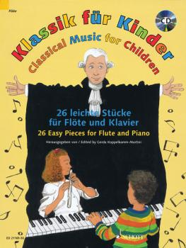 Classical Music for Children: 26 Easy Pieces for Flute and Piano (HL-49044090)