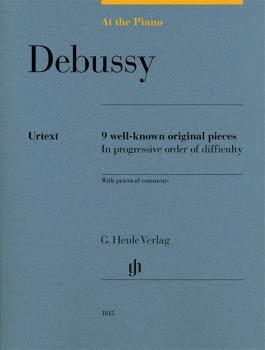 Debussy: At the Piano: 9 Well-Known Original Pieces in Progressive Ord (HL-51481815)