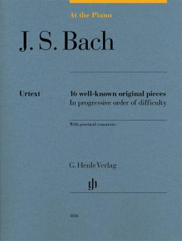 J.S. Bach: At the Piano: 16 Well-Known Original Pieces in Progressive  (HL-51481816)