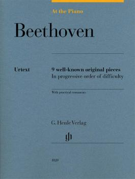 Beethoven: At the Piano: 9 Well-Known Original Pieces in Progressive O (HL-51481820)