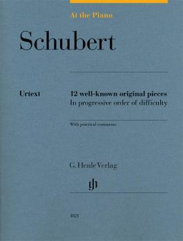 Schubert: At the Piano: 12 Well-Known Original Pieces in Progressive O (HL-51481821)