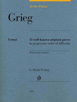 Grieg: At the Piano: 15 Well-Known Original Pieces in Progressive Orde (HL-51481823)