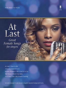At Last: Great Female Songs in the Style of Etta James for Singers (HL-00154198)