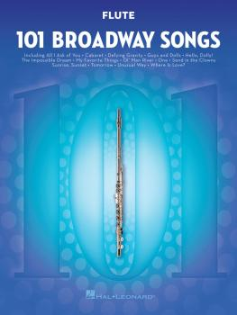 101 Broadway Songs for Flute (HL-00154199)