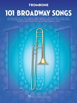 101 Broadway Songs for Trombone (HL-00154205)