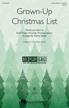 Grown-Up Christmas List (Discovery Level 2) (HL-00156304)
