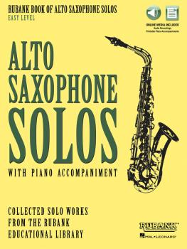 Rubank Book of Alto Saxophone Solos - Easy Level: Book with Online Aud (HL-00160729)