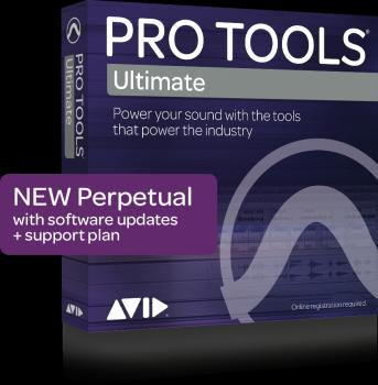 Pro Tools HD: Perpetual License for Software Only Edition includes iLo (HL-00211526)