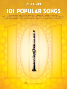 101 Popular Songs (for Clarinet) (HL-00224723)