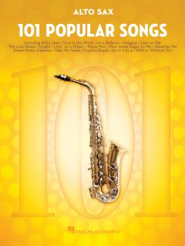 101 Popular Songs (for Alto Sax) (HL-00224724)