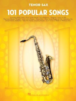 101 Popular Songs (for Tenor Sax) (HL-00224725)