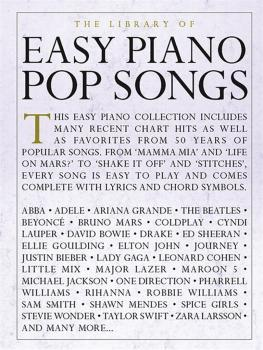The Library of Easy Piano Pop Songs (HL-00232489)