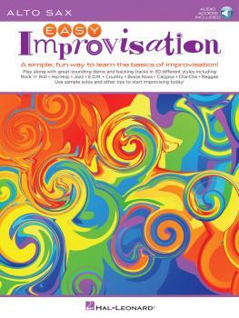 Easy Improvisation (for Alto Sax) (HL-00236547)