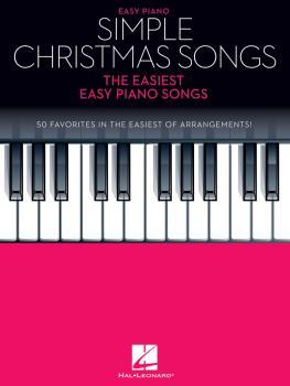 Simple Christmas Songs: The Easiest Easy Piano Songs (HL-00237197)