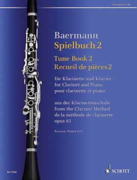 Tune Book 2, Op. 63: Concert Pieces from the Clarinet Method - Clarine (HL-49045057)