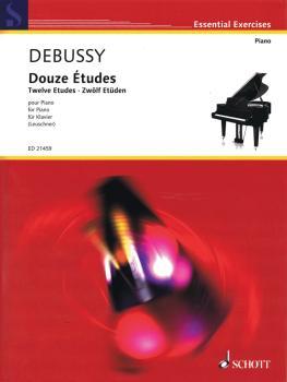 Twelve Etudes [Douze Études] (Piano Solo) (HL-49045113)