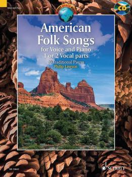 American Folk Songs: 20 Traditional Pieces (for Voice and Piano) (HL-49045462)