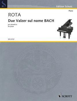 Due Valzer Sul Nome Bach (for Piano) (HL-49045473)