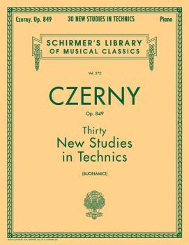 Thirty New Studies in Technics, Op. 849 (Piano Technique) (HL-50253950)