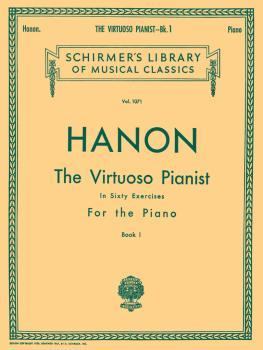 Virtuoso Pianist in 60 Exercises - Book 1 (Piano Technique) (HL-50257620)
