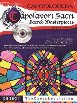 Sacred Masterpieces for Bass (Cantolopera Series) (HL-50600246)