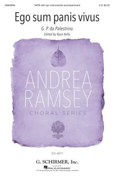 Ego sum panis vivus: Andrea Ramsey Choral Series (HL-50600694)