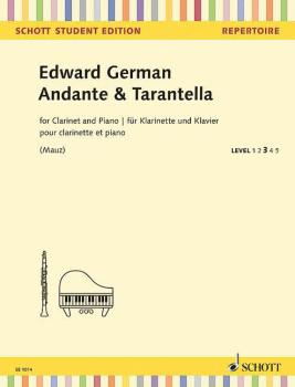 Andante & Tarantella (for Clarinet in B-flat and Piano - Schott Studen (HL-49045547)