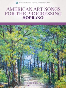 American Art Songs for the Progressing Singer - Soprano (With Online A (HL-50600846)