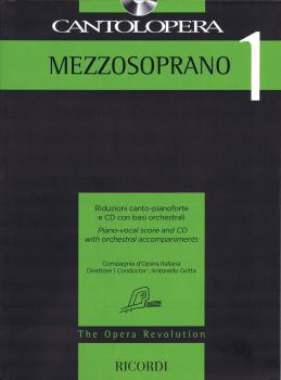 Cantolopera: Mezzo-Soprano 1: Piano-Vocal Score and CD with Orchestral (HL-50600948)