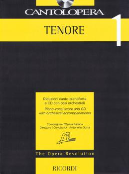 Cantolopera: Tenor 1: Piano-Vocal Score and CD with Orchestral Accompa (HL-50600949)