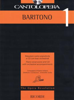 Cantolopera: Baritone 1: Piano-Vocal Score and CD with Orchestral Acco (HL-50600950)
