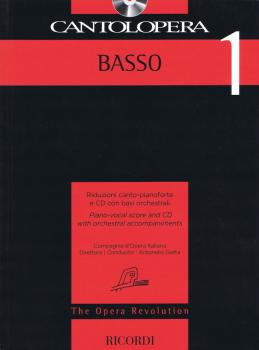 Cantolopera: Bass 1: Piano-Vocal Score and CD with Orchestral Accompan (HL-50600951)
