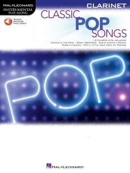 Classic Pop Songs (Clarinet) (HL-00244241)