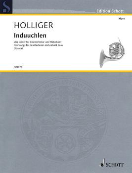 Induuchlen: Four Songs for Countertenor and Natural Horn (HL-49045065)