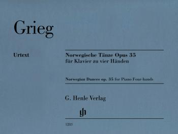 Norwegian Dances Op.35 (Piano Duet for 4 Hands) (HL-51481283)