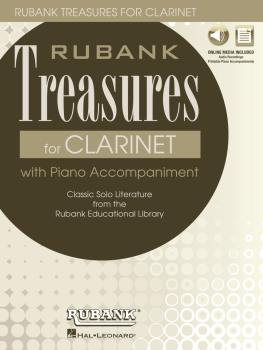 Rubank Treasures for Clarinet: Book with Online Audio stream or downlo (HL-00121405)