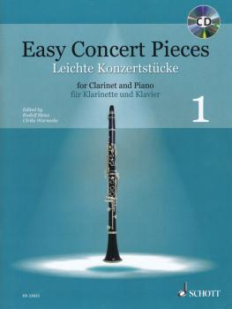 Easy Concert Pieces, Book 1: 25 Pieces from 4 Centurie Clarinet and Pi (HL-49045758)
