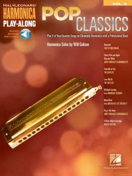 Pop Classics: Harmonica Play-Along Volume 8 (HL-00001090)