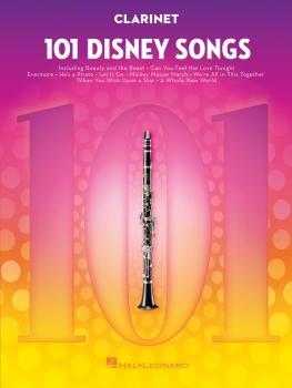 101 Disney Songs (for Clarinet) (HL-00244106)