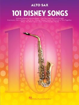101 Disney Songs (for Alto Sax) (HL-00244107)