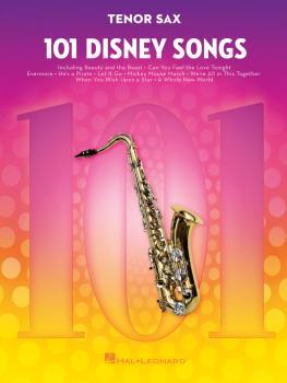 101 Disney Songs (for Tenor Sax) (HL-00244108)