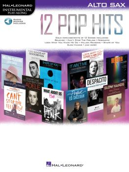 12 Pop Hits (Alto Sax) (HL-00261792)