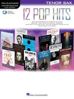12 Pop Hits (Tenor Sax) (HL-00261793)