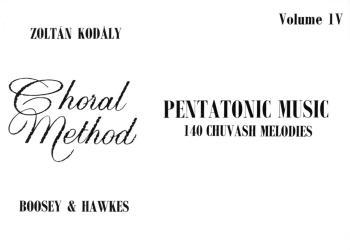 Pentatonic Music - Volume IV (140 Chuvash Melodies) (HL-48009993)