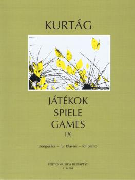 Games for Piano - Volume 9 (Spiele, Jatekok 9) (HL-50600972)