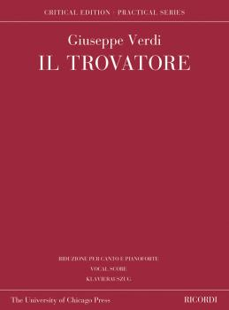 Il Trovatore: Critical Edition Practical Series Vocal Score (HL-50601271)