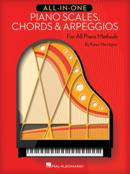 All-in-One Piano Scales, Chords & Arpeggios (For All Piano Methods) (HL-00210630)