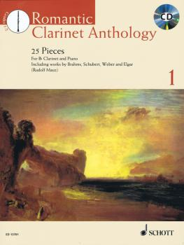 Romantic Clarinet Anthology - Volume 1: 25 Pieces for Clarinet and Pia (HL-49044779)