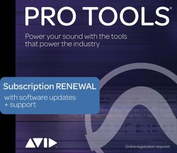 Pro Tools - 1-Year Subscription Renewal: Retail Edition - 1-Year Perpe (HL-00249806)